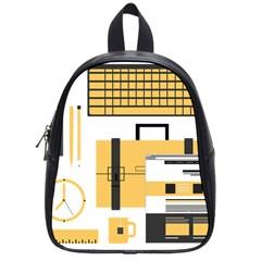 Web Design Mockup Web Developer School Bags (small)  by Nexatart