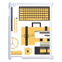 Web Design Mockup Web Developer Apple Ipad 2 Case (white)