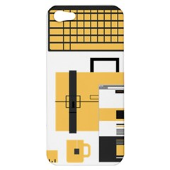 Web Design Mockup Web Developer Apple Iphone 5 Hardshell Case