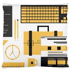 Web Design Mockup Web Developer Standard Flano Cushion Case (one Side)