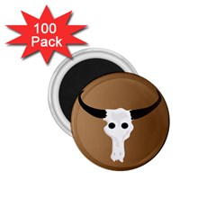 Logo The Cow Animals 1 75  Magnets (100 Pack)