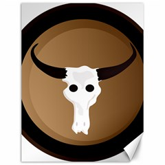 Logo The Cow Animals Canvas 12  x 16