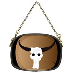 Logo The Cow Animals Chain Purses (one Side)