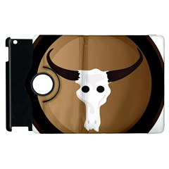 Logo The Cow Animals Apple Ipad 2 Flip 360 Case by Nexatart