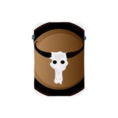 Logo The Cow Animals Apple Ipad Mini Protective Soft Cases by Nexatart