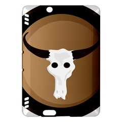 Logo The Cow Animals Kindle Fire Hdx Hardshell Case by Nexatart