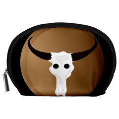 Logo The Cow Animals Accessory Pouches (large)  by Nexatart