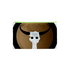 Logo The Cow Animals Cosmetic Bag (xs) by Nexatart