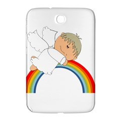 Angel Rainbow Cute Cartoon Angelic Samsung Galaxy Note 8 0 N5100 Hardshell Case  by Nexatart