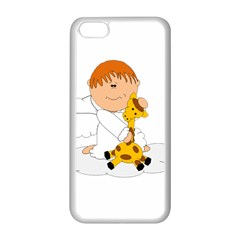 Pet Giraffe Angel Cute Boy Apple Iphone 5c Seamless Case (white)