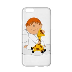 Pet Giraffe Angel Cute Boy Apple Iphone 6/6s Hardshell Case by Nexatart