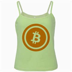 Bitcoin Cryptocurrency Currency Green Spaghetti Tank