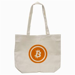 Bitcoin Cryptocurrency Currency Tote Bag (cream) by Nexatart
