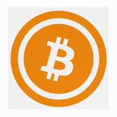 Bitcoin Cryptocurrency Currency Medium Glasses Cloth