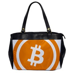 Bitcoin Cryptocurrency Currency Office Handbags by Nexatart
