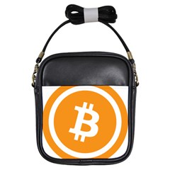 Bitcoin Cryptocurrency Currency Girls Sling Bags by Nexatart