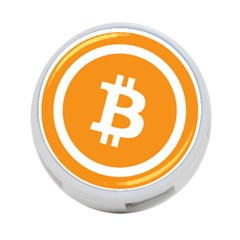 Bitcoin Cryptocurrency Currency 4 Port Usb Hub (two Sides)  by Nexatart