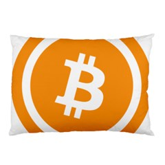 Bitcoin Cryptocurrency Currency Pillow Case (two Sides)