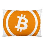 Bitcoin Cryptocurrency Currency Pillow Case (Two Sides) Front