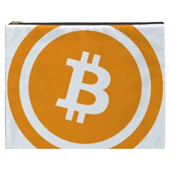 Bitcoin Cryptocurrency Currency Cosmetic Bag (xxxl)