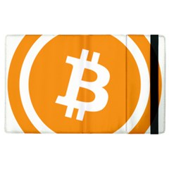 Bitcoin Cryptocurrency Currency Apple Ipad 3/4 Flip Case by Nexatart
