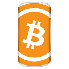 Bitcoin Cryptocurrency Currency Samsung Galaxy S3 S Iii Classic Hardshell Back Case by Nexatart