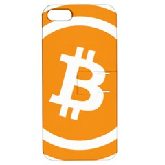 Bitcoin Cryptocurrency Currency Apple Iphone 5 Hardshell Case With Stand by Nexatart