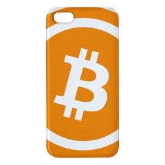 Bitcoin Cryptocurrency Currency Apple Iphone 5 Premium Hardshell Case