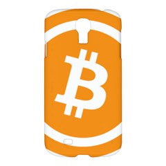 Bitcoin Cryptocurrency Currency Samsung Galaxy S4 I9500/i9505 Hardshell Case by Nexatart