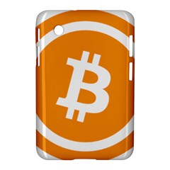 Bitcoin Cryptocurrency Currency Samsung Galaxy Tab 2 (7 ) P3100 Hardshell Case  by Nexatart