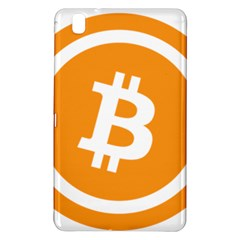 Bitcoin Cryptocurrency Currency Samsung Galaxy Tab Pro 8 4 Hardshell Case by Nexatart