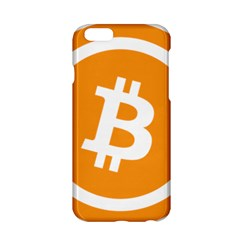Bitcoin Cryptocurrency Currency Apple Iphone 6/6s Hardshell Case by Nexatart