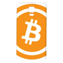 Bitcoin Cryptocurrency Currency Galaxy Note 4 Back Case