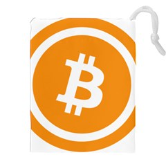 Bitcoin Cryptocurrency Currency Drawstring Pouches (xxl)