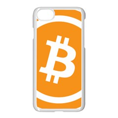 Bitcoin Cryptocurrency Currency Apple Iphone 7 Seamless Case (white) by Nexatart