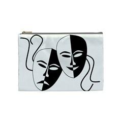 Theatermasken Masks Theater Happy Cosmetic Bag (medium)