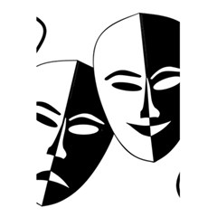 Theatermasken Masks Theater Happy 5 5  X 8 5  Notebooks by Nexatart