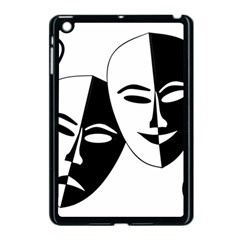 Theatermasken Masks Theater Happy Apple Ipad Mini Case (black) by Nexatart