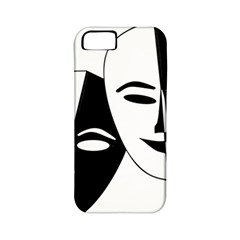 Theatermasken Masks Theater Happy Apple Iphone 5 Classic Hardshell Case (pc+silicone) by Nexatart