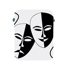 Theatermasken Masks Theater Happy Apple Ipad 2/3/4 Protective Soft Cases