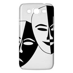 Theatermasken Masks Theater Happy Samsung Galaxy Mega 5 8 I9152 Hardshell Case  by Nexatart