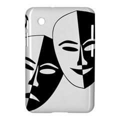 Theatermasken Masks Theater Happy Samsung Galaxy Tab 2 (7 ) P3100 Hardshell Case  by Nexatart