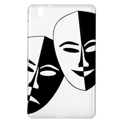 Theatermasken Masks Theater Happy Samsung Galaxy Tab Pro 8 4 Hardshell Case