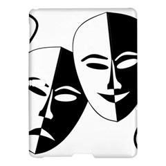 Theatermasken Masks Theater Happy Samsung Galaxy Tab S (10 5 ) Hardshell Case  by Nexatart