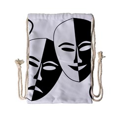Theatermasken Masks Theater Happy Drawstring Bag (small)