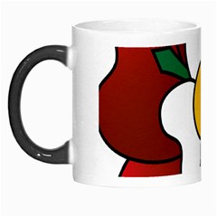 Flower Rose Glass Church Window Morph Mugs by Nexatart