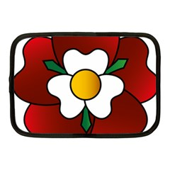 Flower Rose Glass Church Window Netbook Case (medium)