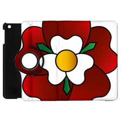 Flower Rose Glass Church Window Apple Ipad Mini Flip 360 Case