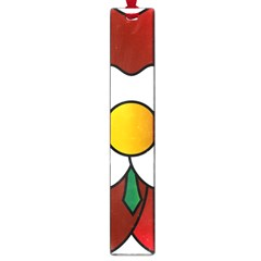 Flower Rose Glass Church Window Large Book Marks by Nexatart