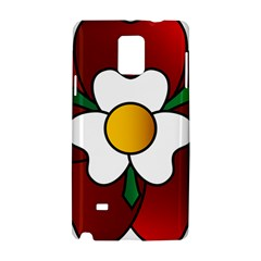 Flower Rose Glass Church Window Samsung Galaxy Note 4 Hardshell Case by Nexatart